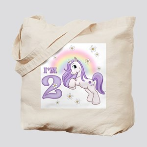 Pretty Pony 2nd Birthday Tote Bag