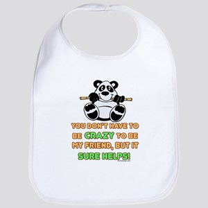 Crazy Friends Bib