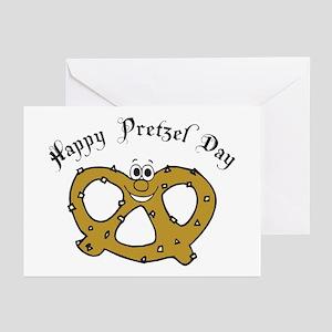 Happy Pretzel Day Greeting Cards