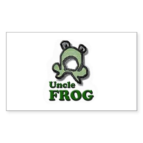 Uncle Frog's Pond Rectangle Sticker 50 pk)