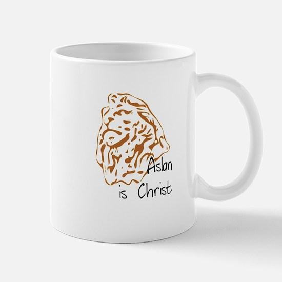 Aslan Is Christ Mug