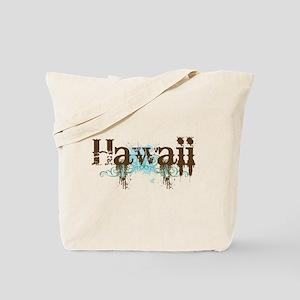 Hawaii Grunge Tote Bag
