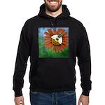 Bee Flower Hoodie (dark)