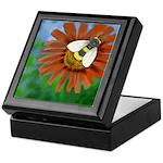 Bee Flower Keepsake Box