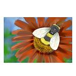 Bee Flower Postcards (Package of 8)