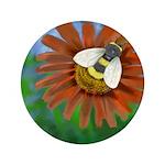 Bee Flower Button