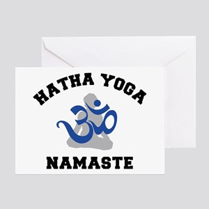 Hatha Yoga Greeting Card
