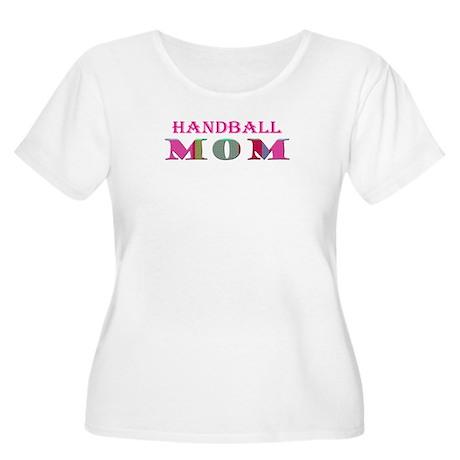 handball Women's Plus Size Scoop Neck T-Shirt