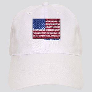 PLEDGE OF ALLEGIANCE FLAG Cap
