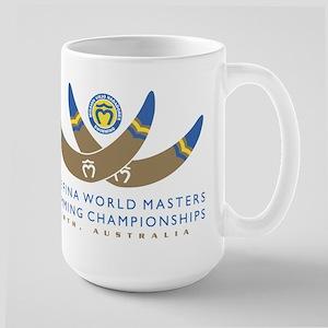 2008 Masters Worlds SCY Large Mug