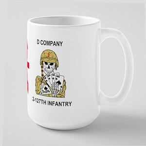 127th Infantry <BR>D Company 15 Oz Mug