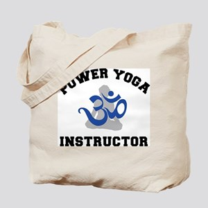 Power Yoga Instructor Tote Bag