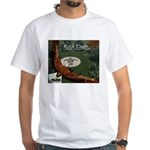 Rock Eagle White T-Shirt
