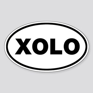 XOLO Oval Sticker