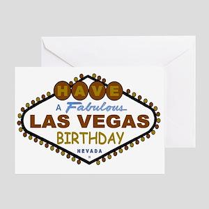 Have A Fabulous Las Vegas Birthday Card