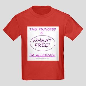 Wheat Free Princess Kids Dark T-Shirt
