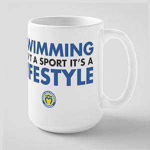 Swim Lifestyle Large Mug