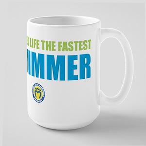 Started Life Fastest Large Mug
