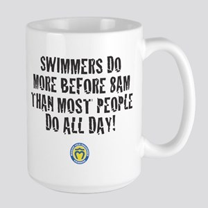Swimmers Do More Large Mug