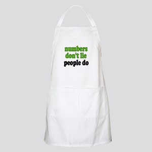 Numbers Don't Lie BBQ Apron