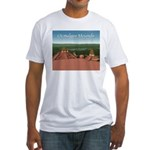 Ocmulgee Mounds Fitted T-Shirt