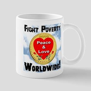 Fight Poverty worldwide! Mug
