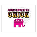 Conservative Chick Small Poster