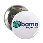 """Obama Yes We Can 2.25"""" Button"""