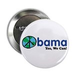 """Obama Yes We Can 2.25"""" Button (100 pack)"""