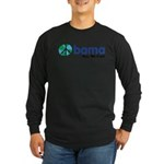 Obama Yes We Can Long Sleeve Dark T-Shirt