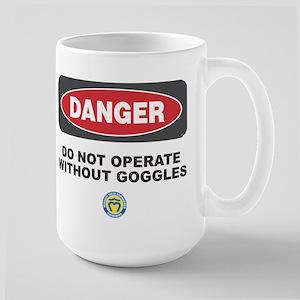 Danger Goggles Large Mug