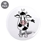 "BULL! 3.5"" Button (10 pack)"