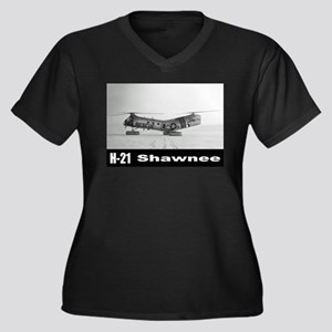H-21 Workhorse / Shawnee Women's Plus Size V-Neck