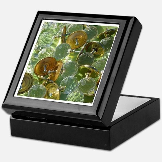 Glass Knobs Keepsake Box