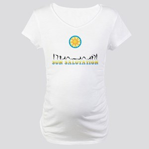 Sun Salutation Maternity T-Shirt