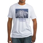Mt. Baldy, California, Fitted T-Shirt