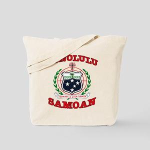Honolulu Samoan Tote Bag