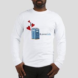 I Heart Porta-Potty Long Sleeve T-Shirt