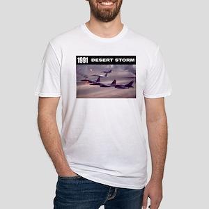 Desert Storm Fitted T-Shirt