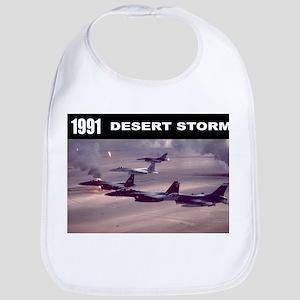 Desert Storm Bib