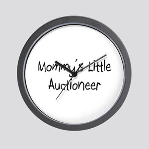 Mommy's Little Auctioneer Wall Clock