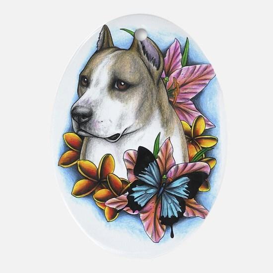 Flower Bully Keepsake (Oval)