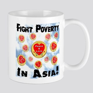 Fight Poverty In Asia! Mug