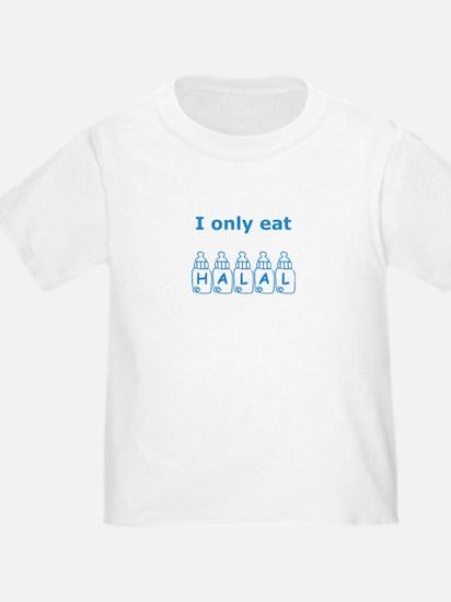 I only eat Halal T
