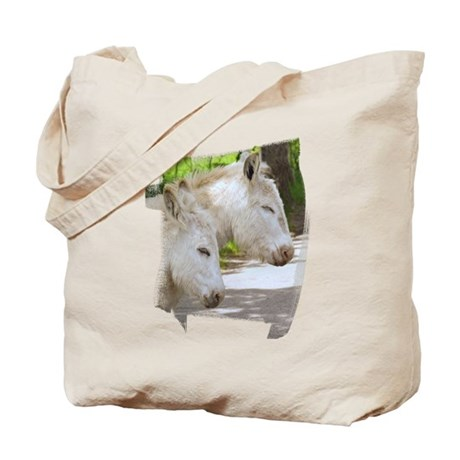 Dozing Donkeys Tote Bag
