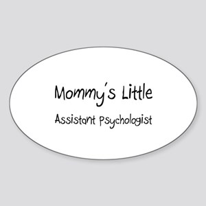 Mommy's Little Assistant Psychologist Sticker (Ova
