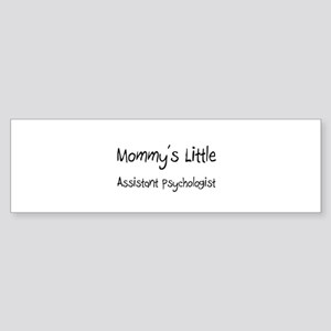 Mommy's Little Assistant Psychologist Sticker (Bum