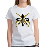 Fleur De Lis Pirate Women's T-Shirt