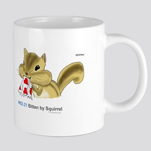Icd-10 W53.21 Bitten By Squirrel Mugs