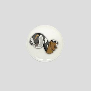 Nubian Goat Mini Button